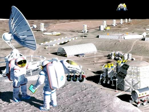 Фото - Чи є життя на Місяці?