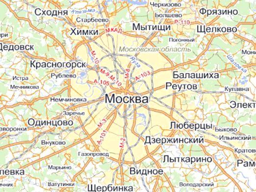 Фото - Де знаходиться Москва?