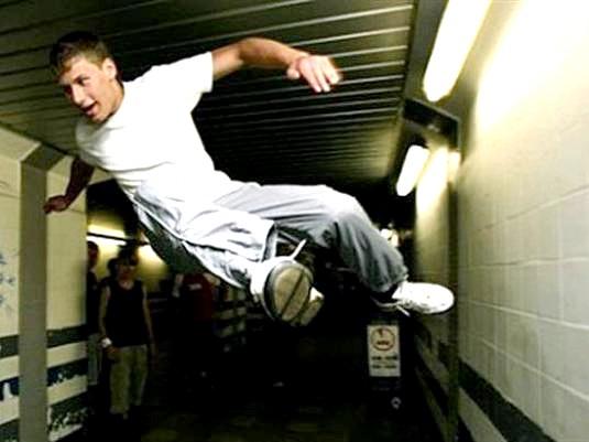 Фото - Як бігати по стінах?