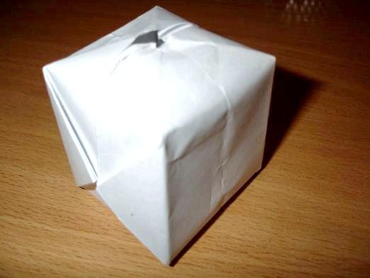 Фото - Як з паперу зробити бомбочку?