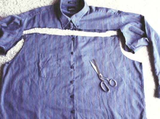 Фото - Як з сорочки зробити плаття?