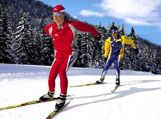 Фото - Як кататися на лижах?