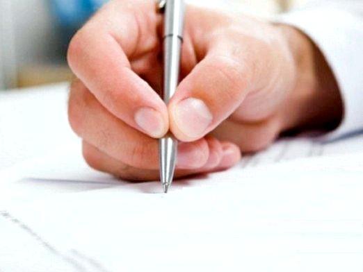 Фото - Як написати заяву в школу?