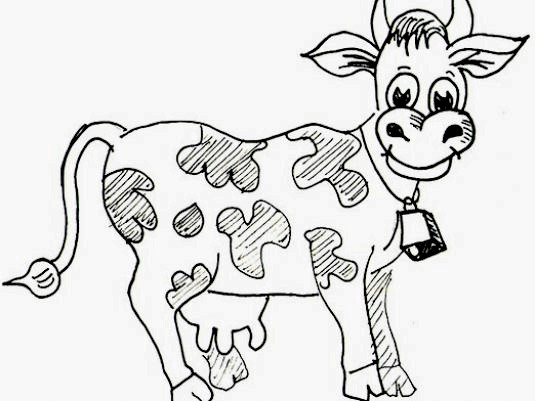 Фото - Як намалювати корову?