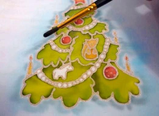 Фото - Як намалювати новорічну листівку?