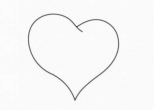 Фото - Як намалювати серце поетапно?