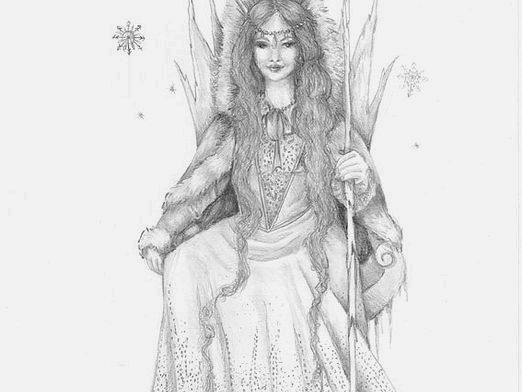 Фото - Як намалювати Снігову королеву?