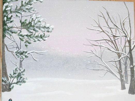 Фото - Як намалювати зиму?