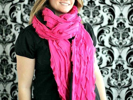 Фото - Як носити шарф?