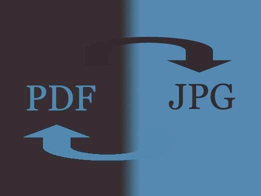 Фото - Як pdf перевести в jpg і назад?