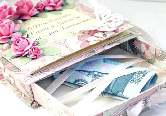 Фото - Як подарувати гроші на весілля?