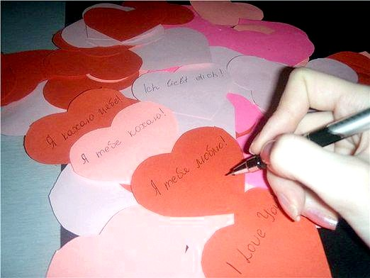 Фото - Як підписати валентинку?