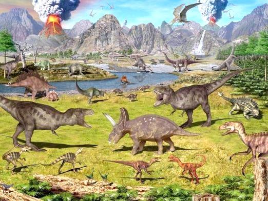 Фото - Як з'явилися динозаври?
