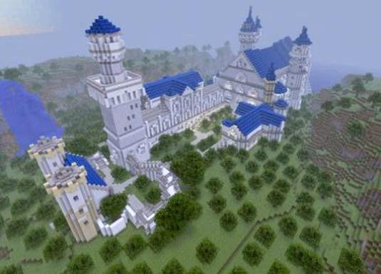 Фото - Як побудувати замок в майнкрафт?
