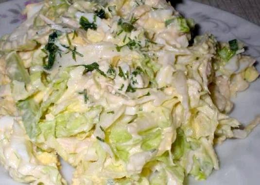 Фото - Як приготувати салат з капусти?