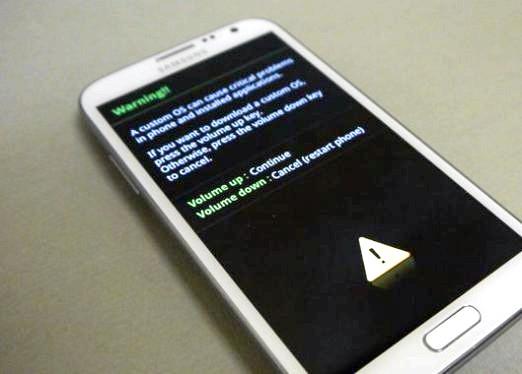Фото - Як прошити Galaxy Note?
