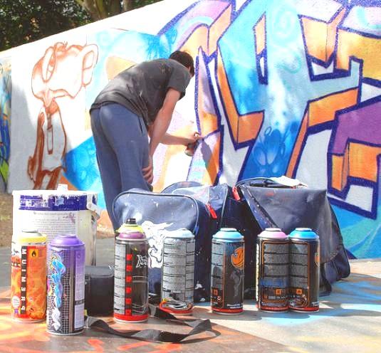 Фото - Як малювати графіті?
