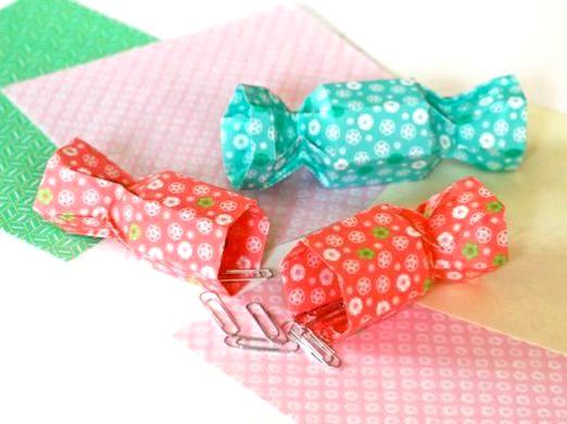 Фото - Як зробити цукерку з паперу?