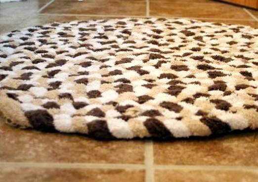 Фото - Як зробити килимок своїми руками?