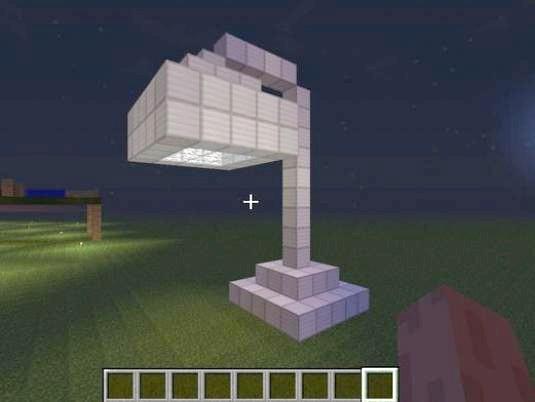 Фото - Як зробити лампу в Minecraft?