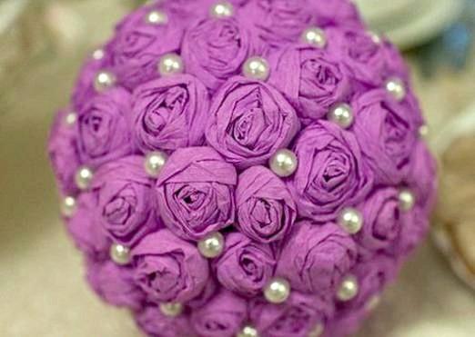 Фото - Як зробити кулю з квітів?