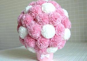 Фото - Куля з квітів