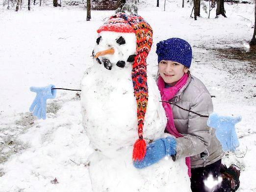 Фото - Як зробити сніговика?