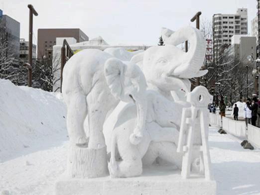 Фото - Як зробити снігову фігуру?