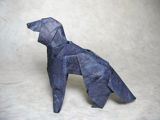 Фото - Як зробити собаку з паперу?