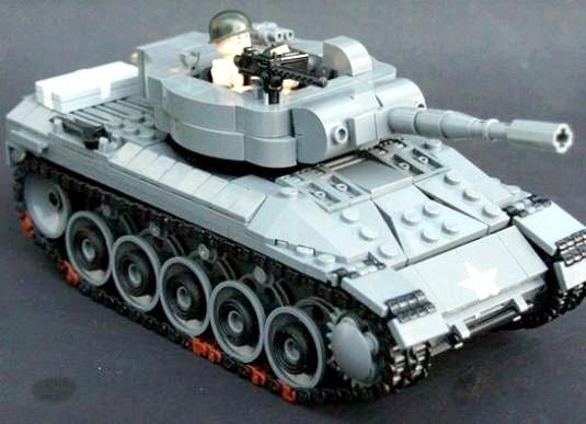 Фото - Як зробити танк з Лего?
