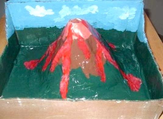 Фото - Як зробити вулкан?