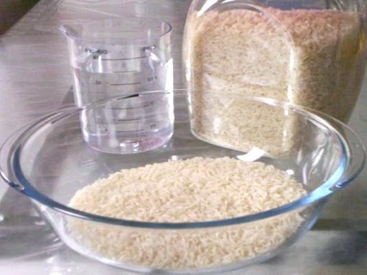 Фото - Як варити рис в мікрохвильовці?