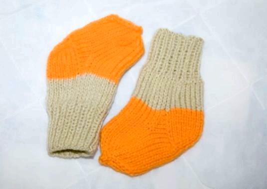 Фото - Як в'язати шкарпетки?