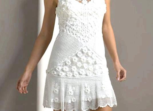 Фото - Як в'язати плаття?