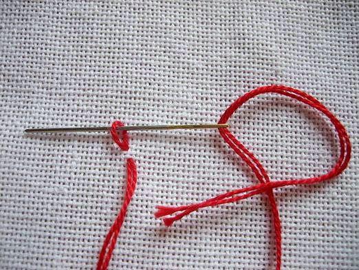 Фото - Як закріпити нитку?
