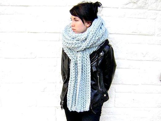Фото - Як зав'язати довгий шарф?