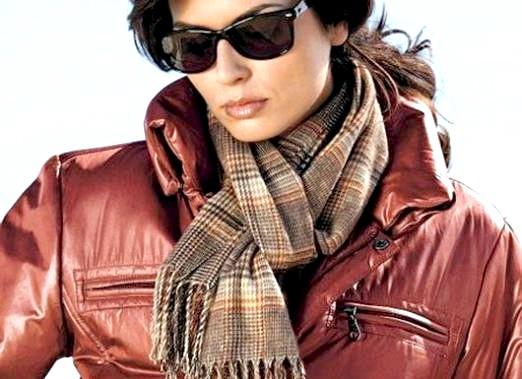 Фото - Як зав'язати шарф на куртці?