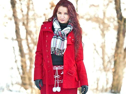 Фото - Як зав'язати шарф взимку?