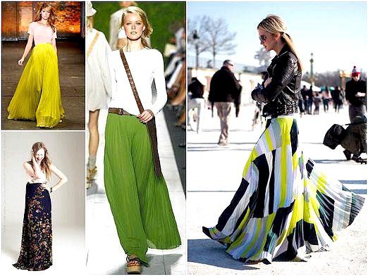 Фото - Які спідниці в моді?
