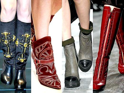 Фото - Які чоботи в моді?