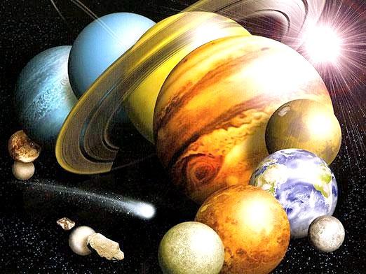 Фото - Якого кольору планети?