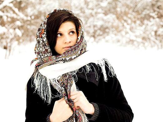 Фото - Хустки павлопосадскіе: як носити?