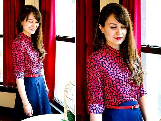 Фото - З чим носити блузку?
