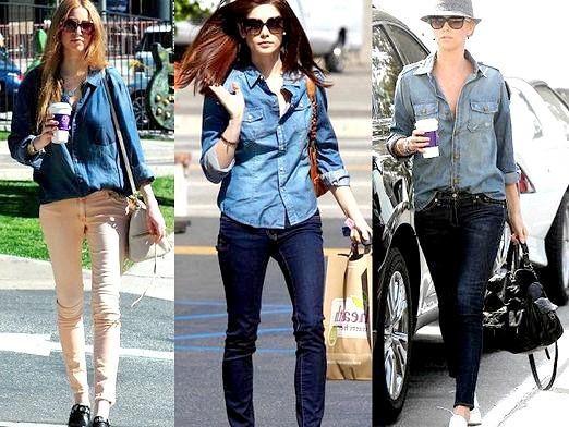 Фото - З чим носити джинсову сорочку?