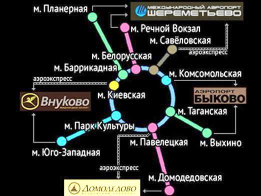 Фото - Скільки аеропортів в москві?