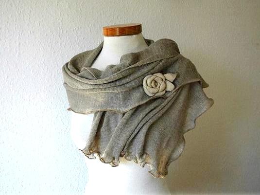 Фото - Як прикрасити шарф?