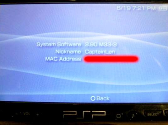 Фото - Як дізнатися прошивку PSP?