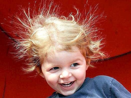 Фото - Чому волосся електризується?