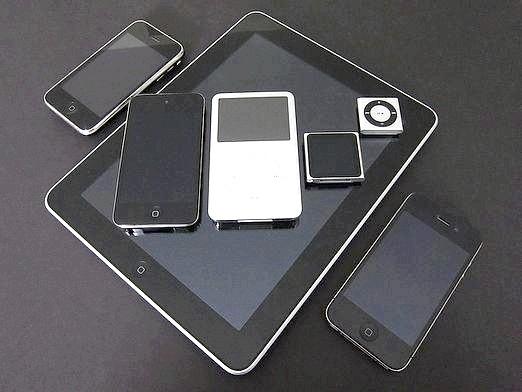 Фото - Чим відрізняється айфон від айпода?