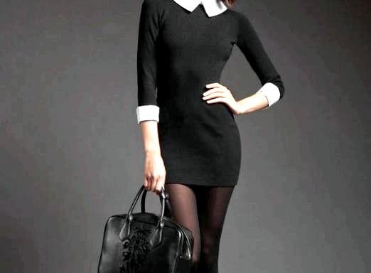 Фото - Що носити з чорним платтям?